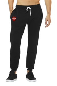 MUSTANG BLACK COTTON JOGGER