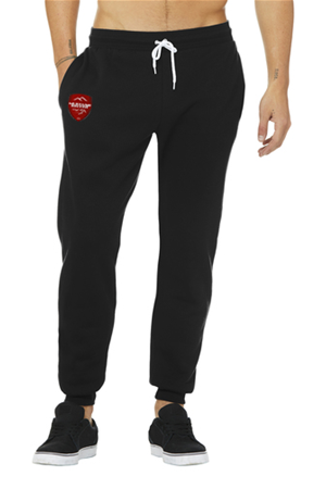 MUSTANG BLACK COTTON JOGGER Image