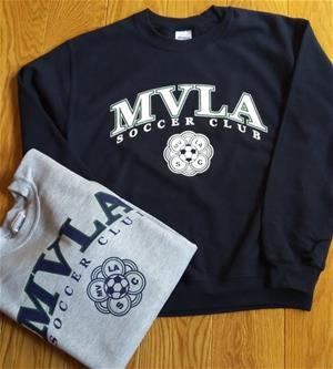 MVLA CREW NECK SWEATSHIRT GREY Image