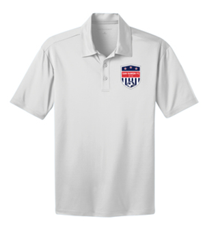 SRFC SILK TOUCH PERFORMANCE POLO WHITE Image
