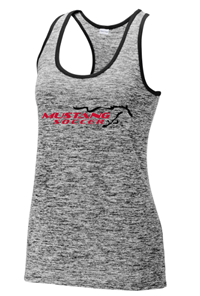 Ladies Racerback Heather Tank
