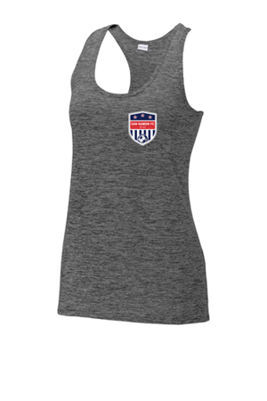 SRFC Ladies Racerback Heather Tank Image