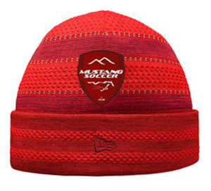 Mustang Red New Era Beanie Image