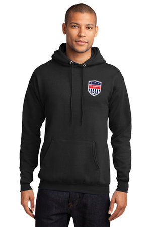SRFC Black Pull Over Hoody Image