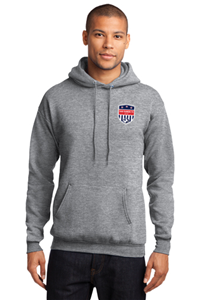 SRFC Grey Pull Over Hoody
