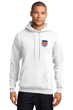 SRFC White Pull Over Hoody Image