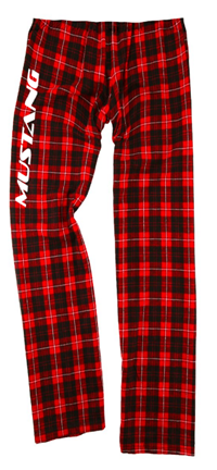 BOXER CRAFT RED/BLACK MUSTANG FLANNEL PANTS