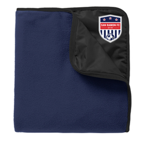 SRFC NAVY FLEECE BLANKET Image